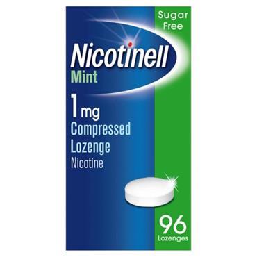 Nicotinell Mint Lozenge 1Mg 96s