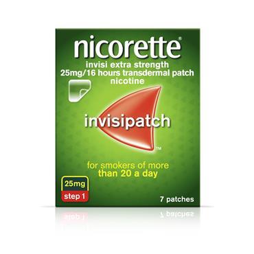 Nicorette Invisi Patch 25Mg 7s