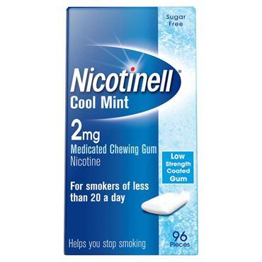 Nicotinell Nicotine Gum Cool Mint 2mg 96s