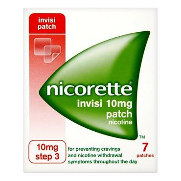 Nicorette Invisi Patch 10Mg 7s