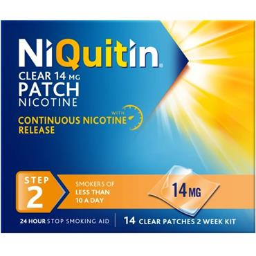 NiQuitin Clear Patch 14mg