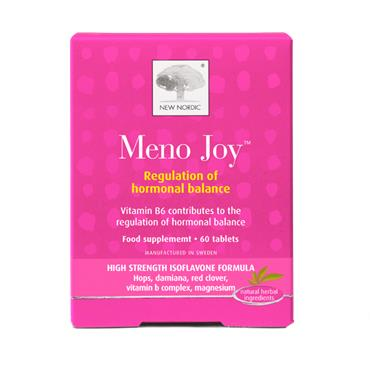 New Nordic Meno Joy 60 Tablets Nnm10