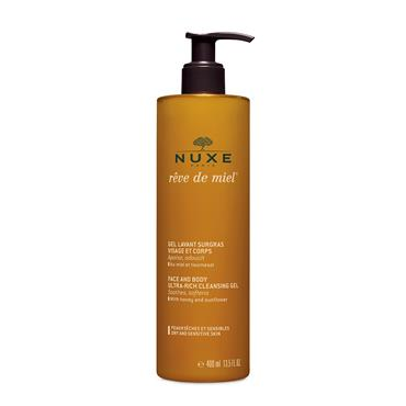 Nuxe Rêve De Miel Face And Body Ultra-Rich Cleansing Gel 400ml