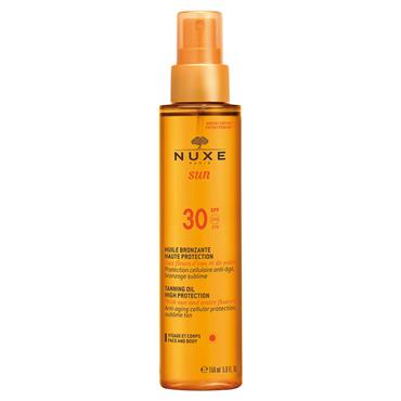 Nuxe Sun Tanning Oil High Protection SPF30 150ml