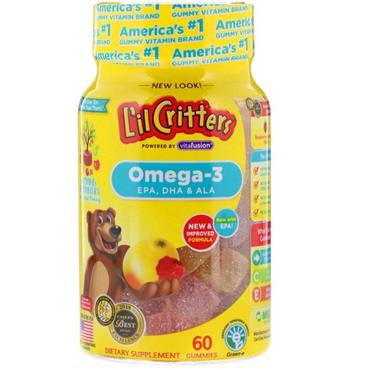 L'il Critters Omega-3 DHA 60 Pack