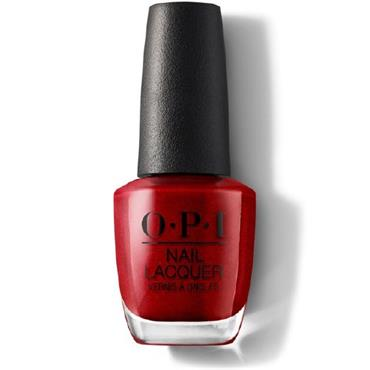 O.P.I Lacquer An Affair in Red Square