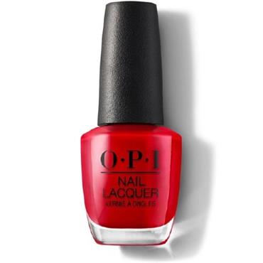 O.P.I Lacquer Big Apple Red