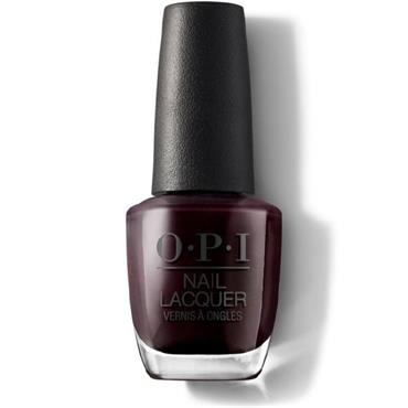 O.P.I Lacquer Midnight in Moscow