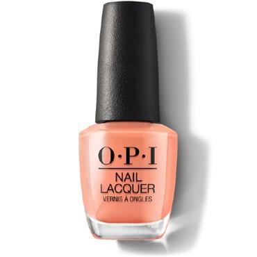 O.P.I Lacquer Freedom of Peach