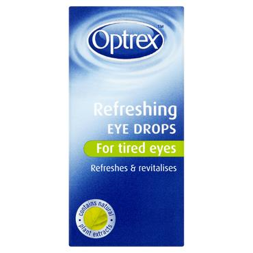 Optrex Refreshing Eye Drops For Tired Eyes 10Ml