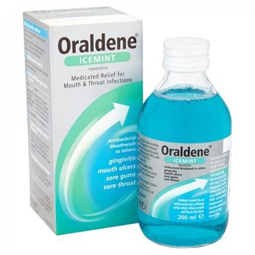 Oraldene Ice Mint Mouth Wash 200ml