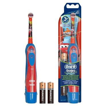 Oral B Stages Battery Power Kids Toothbrush Disney Cars