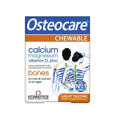 Vitabiotics Osteocare Chewable 30 Tablets