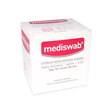 Medicare Mediswab Sterile Non Woven Swabs