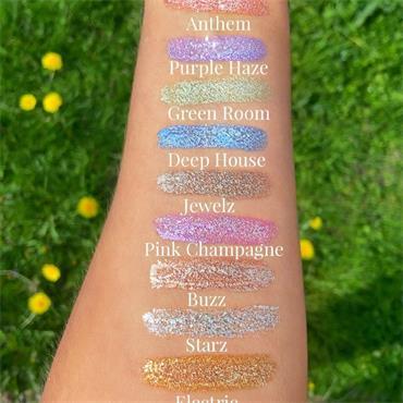 Bperfect Glamour Glitter Liquid Eyeshadows