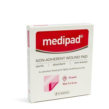 Medicare Medipad Sterile Non Adherent Pad