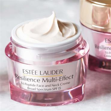 Estée Lauder Resilience Multi-Effect Tri-Peptide Face and Neck Creme SPF15