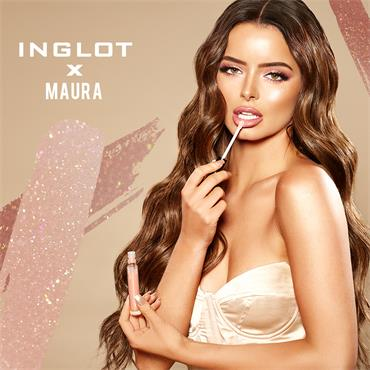 Inglot Cosmetics X Maura Naughty Nudes Lip Gloss