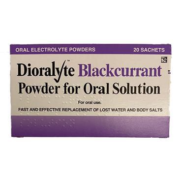 Dioralyte Blackcurrant Sachets