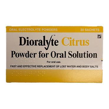 Dioralyte Citrus Sachets
