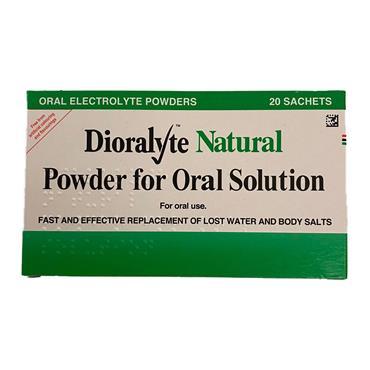 Dioralyte Natural Sachets