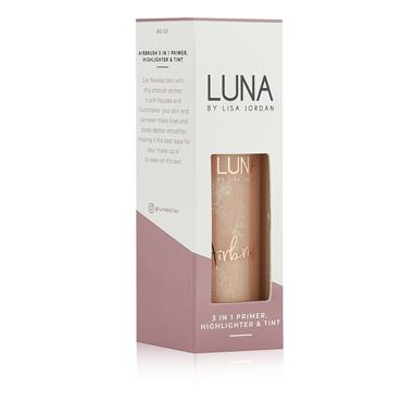 LUNA by Lisa Jordan Airbursh 3 in 1 Primer, Highlighter & Tint