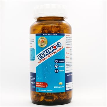 Eskimo-3 with Vitamin E Capsules