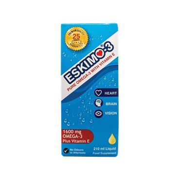 Eskimo-3 with Vitamin E Liquid