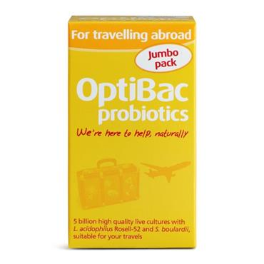 OptiBac Probiotics For travelling abroad Capsules