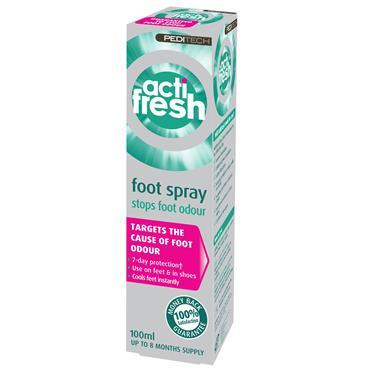 Peditech Actifresh Foot Spray 100ml