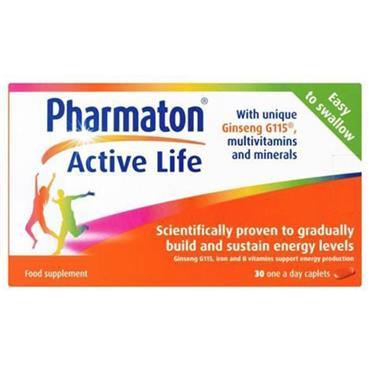 Pharmaton Active Life 30 Capsules