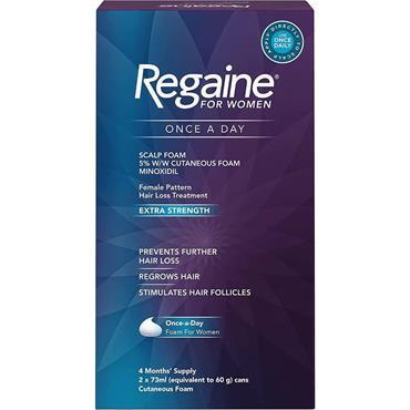 Regaine For Women Once A Day Scalp Foam 2 x 60g