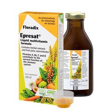 Salus Floradix Epresat Liquid multivitamin formula 250ml