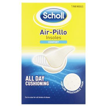 Scholl Air-Pillo Comfort Insoles 1 Pair