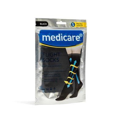 Medicare Flight Socks Black