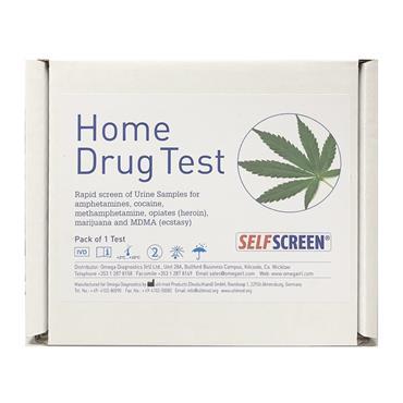 Self-Screen Home Drug Test