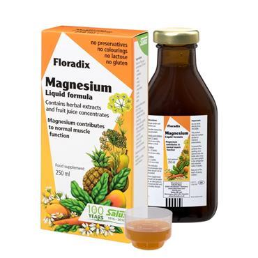 Salus Floradix Magnesium Liquid formula 250ml