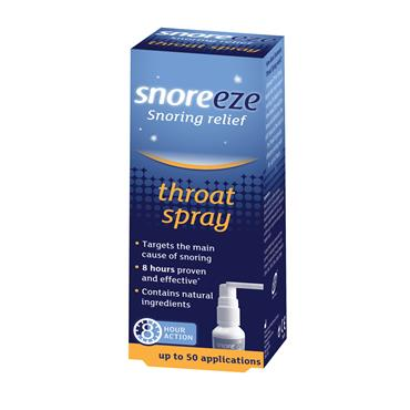 Snoreeze Snoring Relief Throat Spray