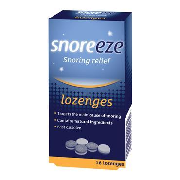Snoreeze Snoring Relief Lozenges 16s