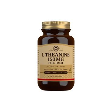 Solgar L-Theanine 150mg Capsules 30s