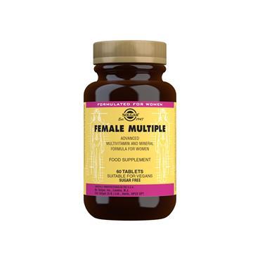 Solgar Female Multiple Tablets 60s