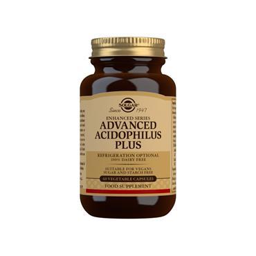 Solgar Advanced Acidophilus Plus Capsules 60s