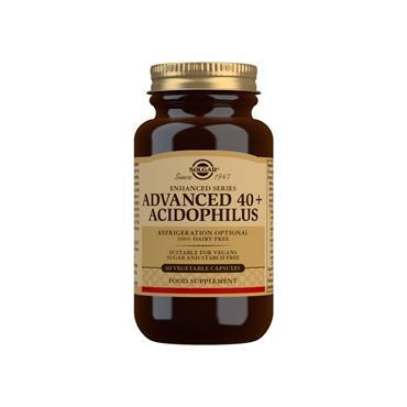 Solgar Advanced 40+ Acidophilus Capsules 60s