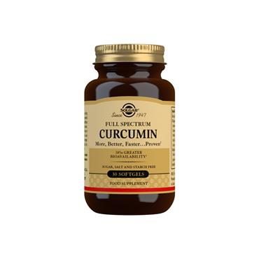 Solgar Full Spectrum Curcumin 185x Softgels 30s