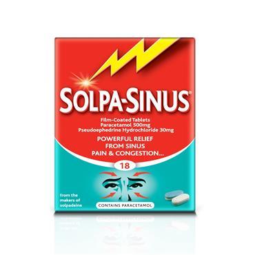 Solpadeine Solpa-Sinus Tablets 18s