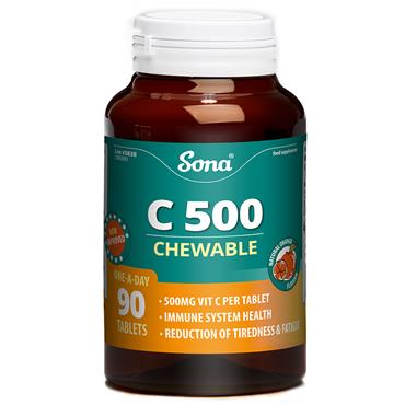 Sona C 500 Chewable 90 Tablets