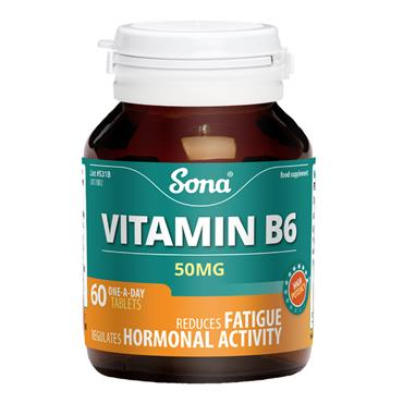 Sona Vitamin B6 60 Tablets