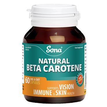 Sona Beta Carotene 60 Capsules