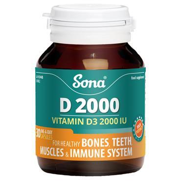 Sona D 2000 30 Capsules
