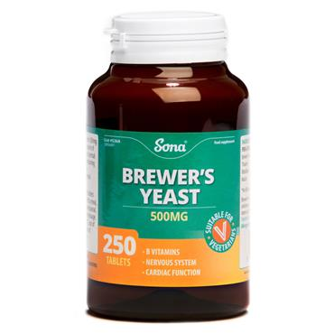 Sona Brewer's Yeast 250 Tablets